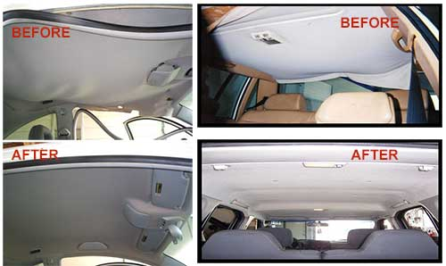 Replace car interior ceiling for How to fix car interior roof